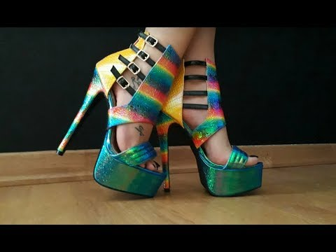 NEW High Heel Shoes to the Collection 2018 !