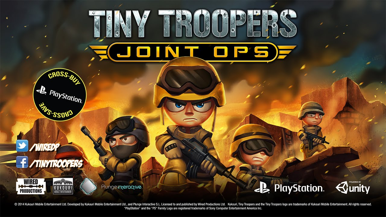 Tiny Troopers Joint Ops Hits PS3, Vita 10/28