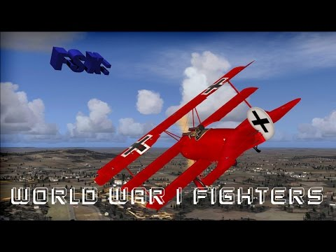 FSX - WW1 Fighters Addon (Steam Edition) - смотреть онлайн на Hah Life