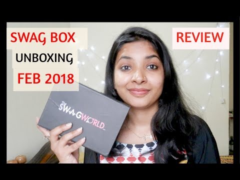 THE SWAG WORLD BOX FEB 2018|| UNBOXING & REVIEW ||5 LUXURY JEWELRY PIECES|| classic box