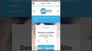 Review of LifeSiteNews.com