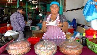 Street Food in El Salvador - Ceviche / Seafood