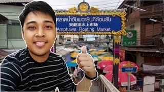 A Day Trip To Amphawa Floating Market + Thai Foods
