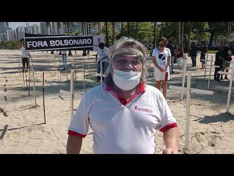 Dia de Luto e Manifestações - #7deAgostoLutaPelaVida