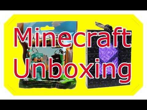 Minecraft Anhänger/Hangers Serie 2 unboxing | Bausteine