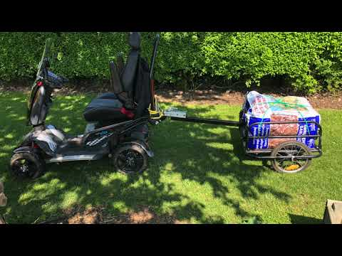 Enjoying an allotment with a mobility scooter - Mark Boss talks about his TGA Vita X on the radio YouTube video thumbnail