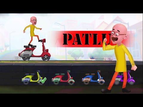 Motu Patlu Bike Race - Patlu Scooter Gameplay Walkthrough