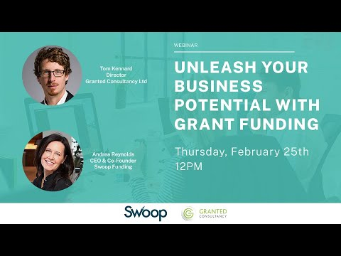 Webinar recording: Unleash your business potential with grant funding