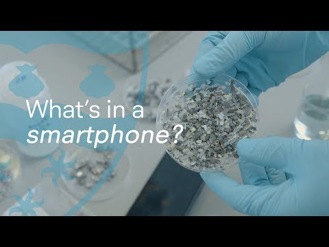 Grinding a Smartphone Into Dust for Science