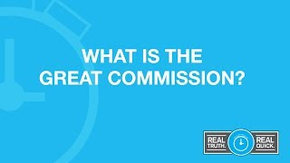What is great commission in the bible