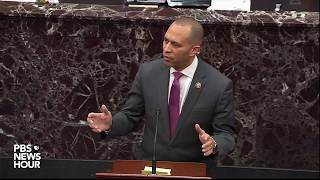 WATCH: Jeffries says Dems 'don't hate this president, but we love the Constitution'