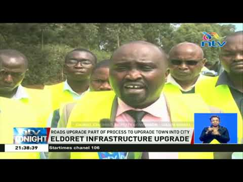 KURA substantially hands over several roads to Uasin Gishu county government