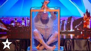 DANGEROUS AUDITION Nearly Goes Wrong!!! Will Matt Johnson Escape?! Britain's Got Talent 2018
