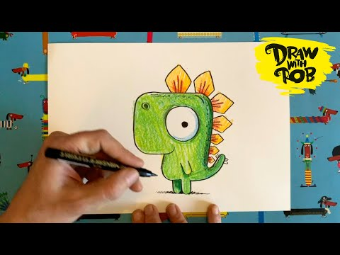 Illustrator gives free drawing lessons to inspire kids ...