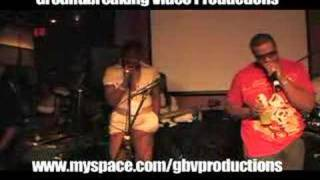 Fantasia and Ricco Barrino performing live
