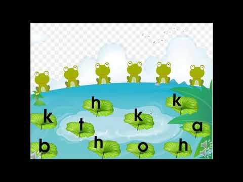 HD làm quen chữ cái: H, K