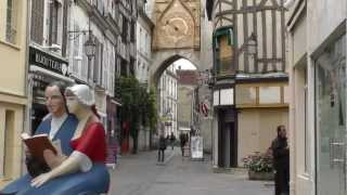 preview picture of video 'Auxerre- Hauptort Departement Yonne- Burgund-France JL FILM2012'