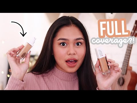 BEST Drugstore FULL COVERAGE Foundation! | ThatsBella