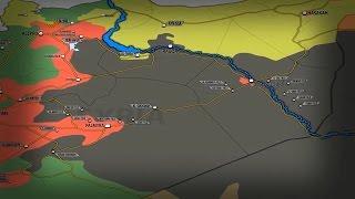 20 апреля 2017. Военная обстановка в Сирии. США увозят шпионов с территории ИГИЛ. Русский перевод.