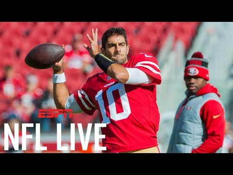 Jimmy Garappolo and San Francisco 49ers agree to $137.5 million deal   NFL Live   ESPN