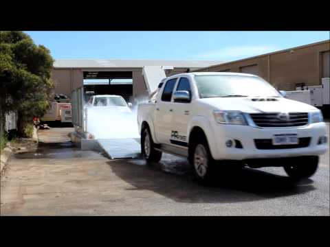 Truck Wheel Wash operating