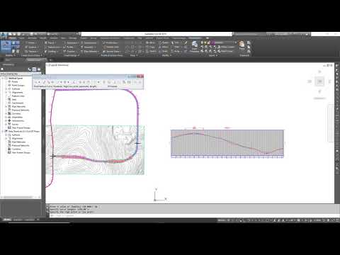 What's New in Civil 3D 2019 - Using Fixed Vertical Curves by high or Low Point