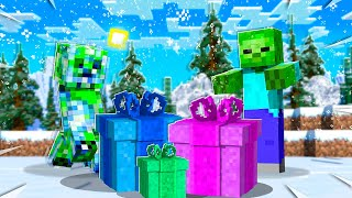 OPENING LUCKY PRESENT BLOCKS Christmas Challenge