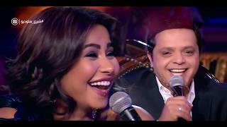 """إضحك من قلبك ... 9 دقائق ضحك متواصل مع الكوميديان """" محمد هنيدي """"  في عيش الليلة وشيري ستوديو"""
