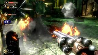 BioShock 2 Gameplay: Splicers Attacking My Little Sister