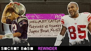 The Helmet Catch finally gets a deep rewind | Super Bowl XLII Giants vs. Patriots thumbnail