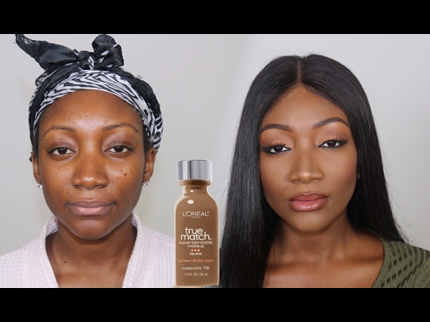 L'OREAL TRUE MATCH FOUNDATION | Demo, Review + GIVEAWAY !!!