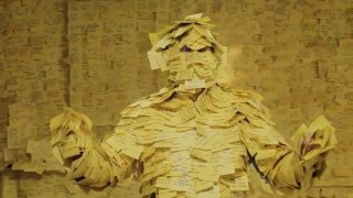 Bruce Almighty post it