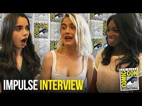 YouTube's IMPULSE Cast Talks Season 2 at Comic Con 2018