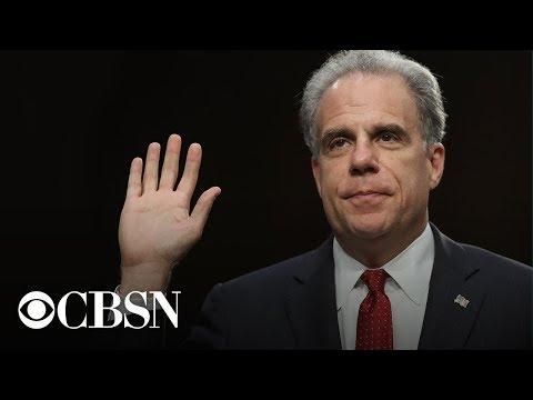 Watch live: Michael Horowitz testifies before the Senate Judiciary Committee