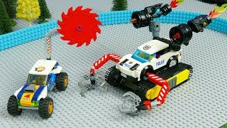 LEGO Experimental Car : Police Car,  Monster Truck and Lego Cars  | Toy Vehicles for Kids