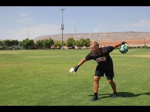 Goalkeeper Training - How To Play Keeper - GK Bowling 10