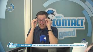 Fou Rire Dans Le Good Morning De Radio Contact !