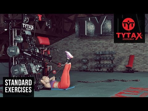 Cable Lying Hip Adduction | TYTAX® M2