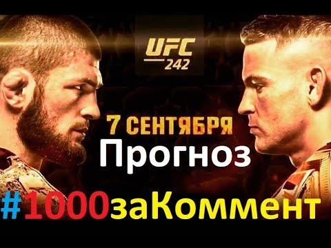 Хабиб Порье Бой UFC 242 Прогноз #1000заКоммент