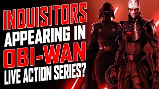 Inquisitors to appear in Obi-Wan live action series? - SEN LIVE 383 by Schmoes Know
