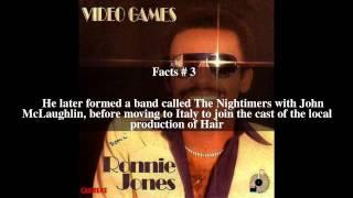 Ronnie Jones (singer) Top # 5 Facts