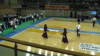 2019 단별검도대회 여자 4단부 준결승 - 유연서 vs 김혜선 [검도V] kendoV 영상