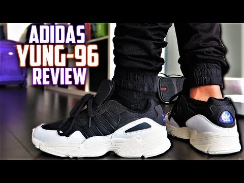 Best $100 DAD SHOE? Adidas Yung-96 Review and On-Feet