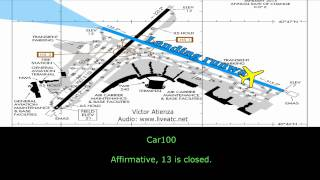 [REAL ATC] MD-80 DELTA CRASH at La Guardia Airport