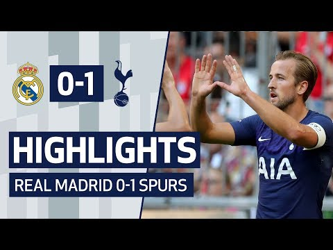 HIGHLIGHTS | REAL MADRID 0-1 SPURS | AUDI CUP 2019