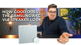 WHAT A GREAT DESIGN! | Samsung AKG VL3 Wireless Speaker Review