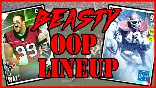 BEASTY OUT OF POSITION LINEUP!! - Madden 16 Ultimate Team | MUT 16 XB1 Gameplay
