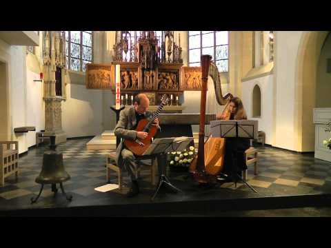 Enrique Granados - Villanesca - for Guitar and Harp