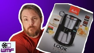 Unboxing and Review MELITTA Look IV Therm Timer Filter Coffee Machine