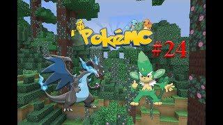 Simisage  - (Pokémon) - minecraft pixelmon tập 24 thu phục pokemon simisage và tiến hóa mega Charizard